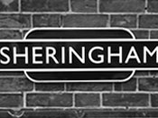 Sheringham station railway sign