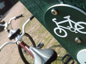 Picture of a cycle route sign